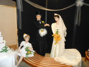 WEDDING EXHIBIT AT THE MUSEUM