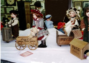 DOLL EXHIBIT AT THE MUSEUM
