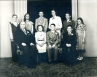 1948 Evangelical United Brethren Church Confirmation Class, Seymour