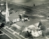 Aerial  View of  Catholic Church -