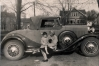Catherine Hittner and James with their 1931 Hupmobile