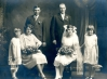 George & Kathleen Blohm 1926 Bridal Party