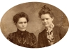 Hattie and Jessie Sherwood   1890s
