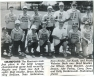 The Mariners Little League Team