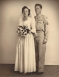 Wedding Photo of John Kneisler and Delores (Dolly) Valentine