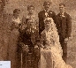 Lizzie Hintz & Frank Dunst  wedding  1900