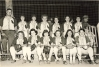 Seymour Cardinals - Girls Softball Coached by Tony Lubinski about 1949