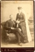 Unknown Couple, Wedding Photo from Bessemer, Michigan