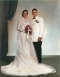 Wedding Photo of Janet Hechel and Earl Sigl
