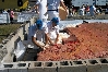 Workers Packing the Big Burger, 2001