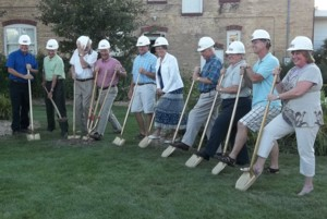 GROUNDBREAKING FOR NEW MUSEUM
